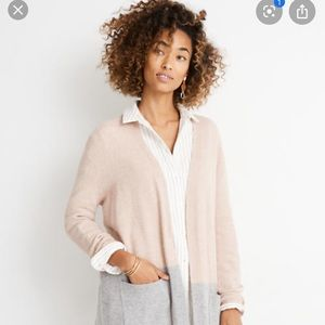 Madewell Kent Colorbock Sweater